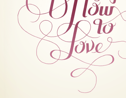 Knowing How To Love