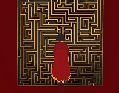 Cartaz Labirinto do Fauno