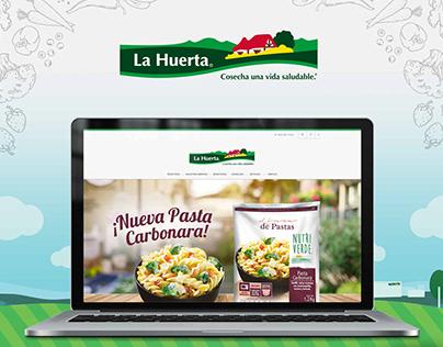 La Huerta - Diseño Web