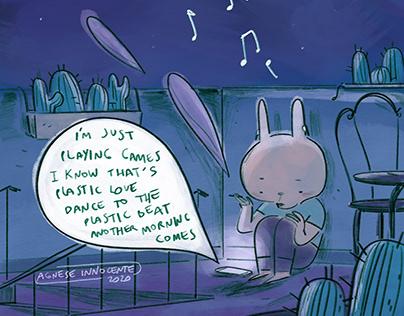City Pop Bunny serie