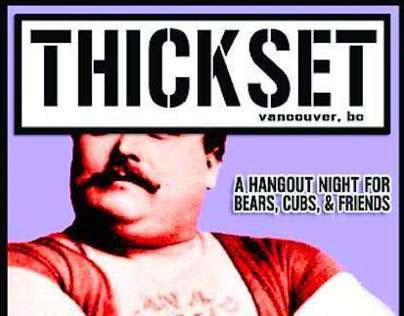 THICKSET - A Hangout Night For Bears, Cubs & Friends