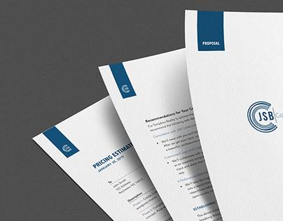 Proposal Design for SEO Company