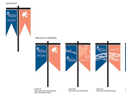 Naperville Riverwalk Seasonal Banners