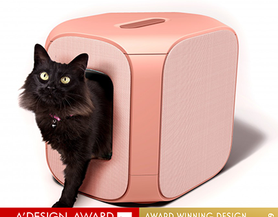 Gizelle Cat litter box