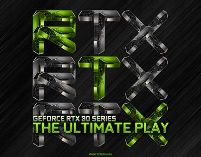 Nvidia RTX 30 Series Ad Concept