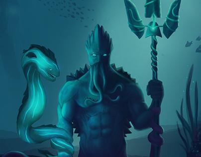 Guardian of the Deep Seas - Character Design