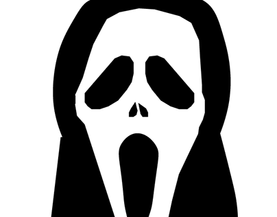 Tracing Scream Face. #adobeskillbuilder #digitalimaging