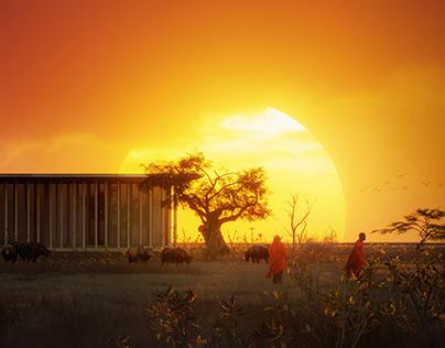 safari sunset view1