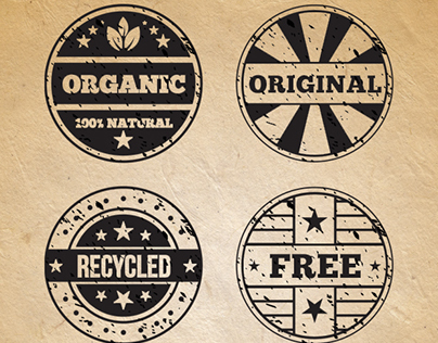 Retro Rubber Stamps