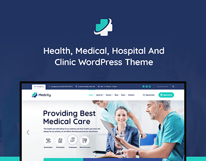 Medcity - Health & Medical WordPress Theme