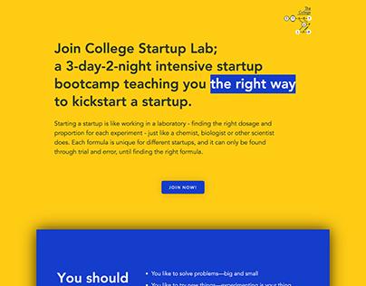 Startup Lab - ABESA