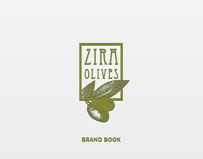 Zira Olives Brand Book