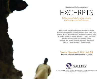 Excerpts, Group Show, Koel Gallery, Khi