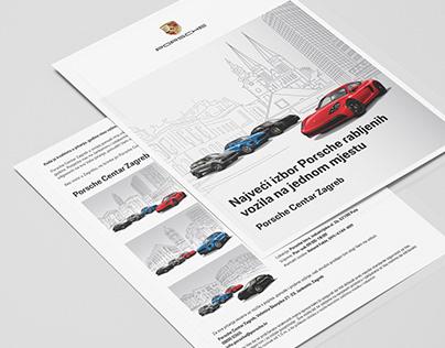 Used cars Porsche campaign