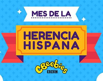 Mes de la Herencia Hispana animations