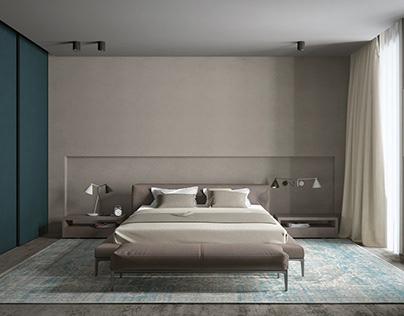 Bedroom in Dnepr