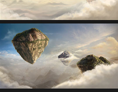 Work process on ''Floating Islands''