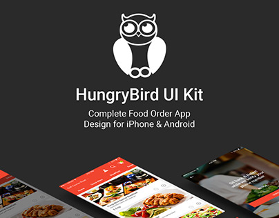 HungryBird - Food App UI Kit