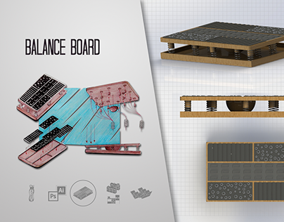 Prancha de Equilíbrio // Balance Board