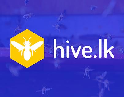 hive.lk - Logo designing & Branding