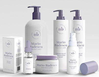 Mario Badescu Skincare Brand Redesign