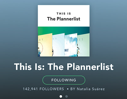 The Plannerlist - Spotify