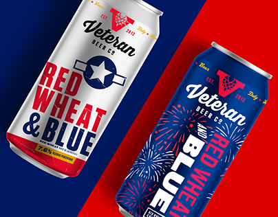 Veteran Beer Co. / Red Wheat and Blue Concepts