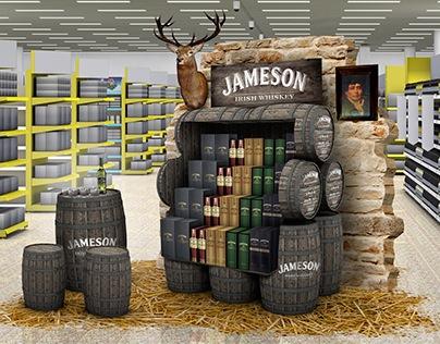 PERNOD RICARD ALCOHOL DISPLAYS