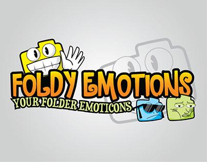 Foldy Emotions Your Folder Emoticon