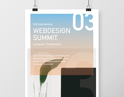 Event Poster Design - Webdesign Summit