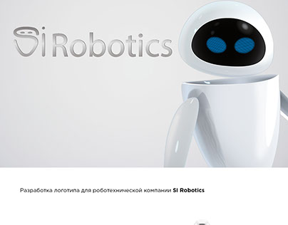 SI Robotics logo design