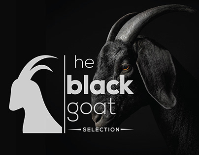 The black goat - Logo Design
