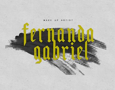 BRANDING | Fernanda Gabriel MUA
