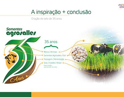 Selo 35 anos Agrosalles