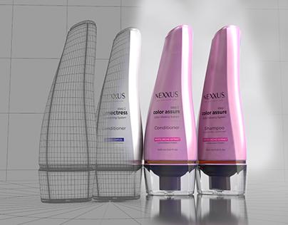 Nexxus Shampoo Pack Design