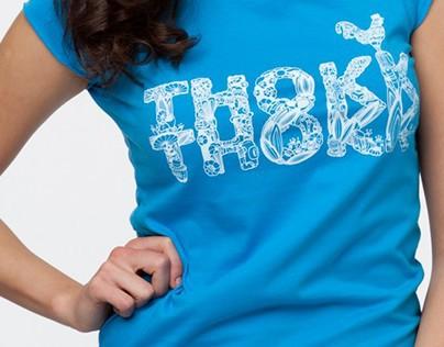 THOKK THOKK T-shirt Logo Design
