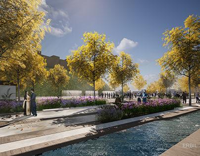 The new Erbil Citadel Urban Park