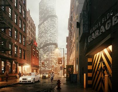 New York Alley
