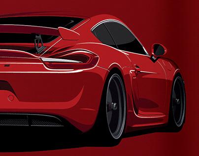 '16 Porsche Cayman GT4
