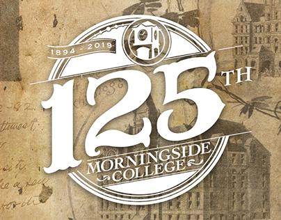 Morningside College 125th logo