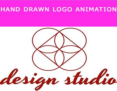 Flat and signature Logo Animation