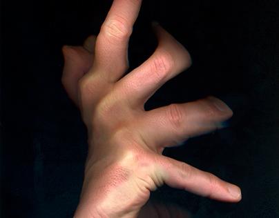 Hand scanphotos