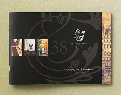 38 St Giles Boutique Bed & Breakfast Brochure