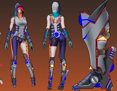 League of Legends Champion Concept - Rae