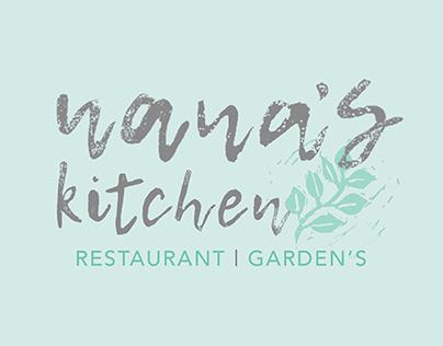Nana's Kitchen branding and packaging