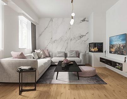Bright apartment in Kisela Voda