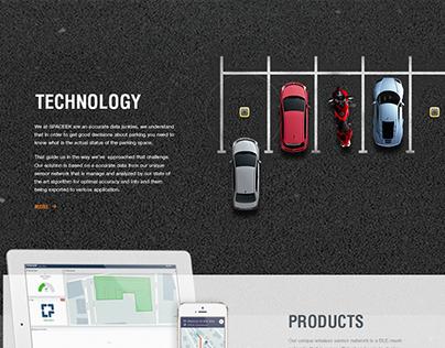 Spaceek - Website, UI/UX