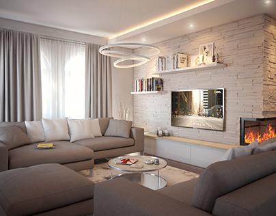 House interior, LA