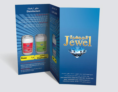 Branding For Jewel leading detergent Factory.