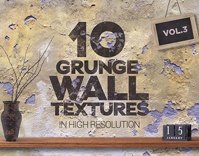 Grunge Wall Textures vol3